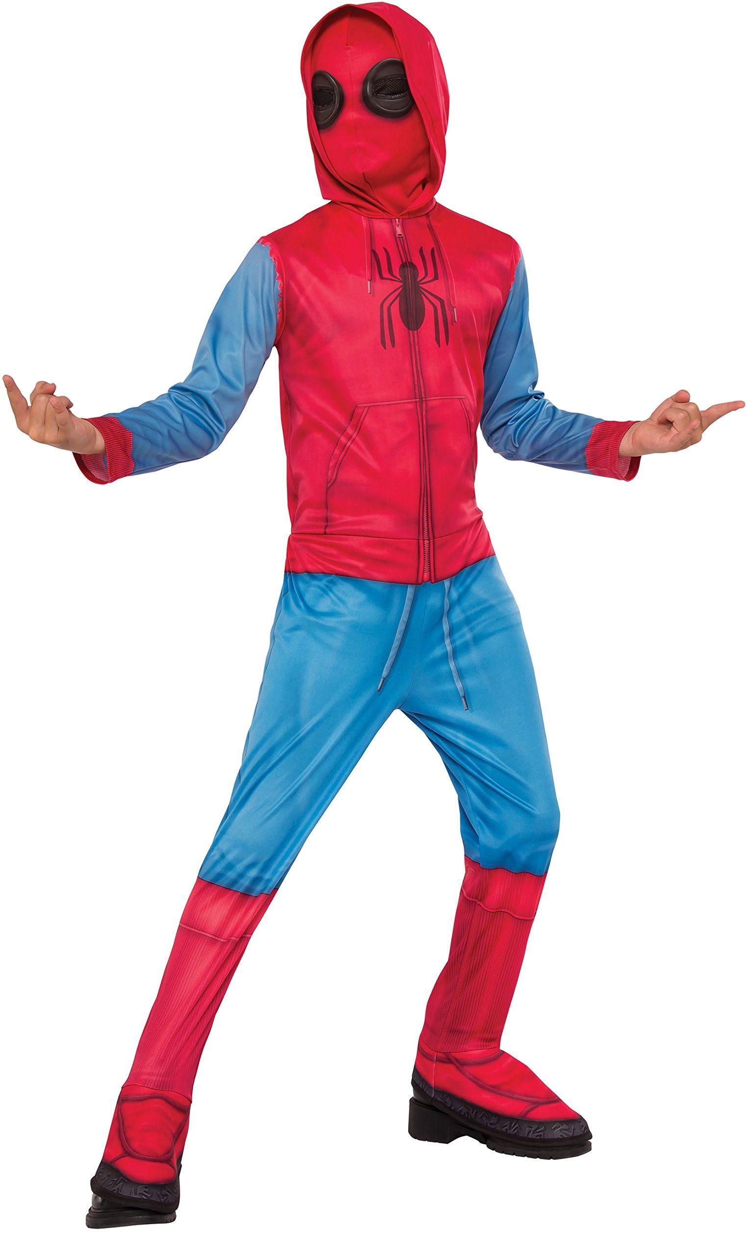 Marvel  i-640129 m  klasyczny design  Sweat  Spider-Man Homecoming z couvre-bottes + kominiarka, rozmiar M