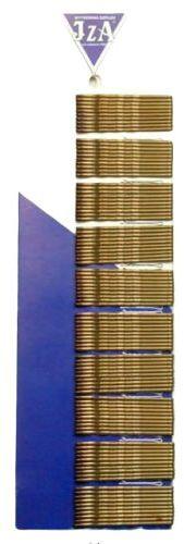 IzA 315/100 wsuwki karbowane brąz 100 sztuk 50mm