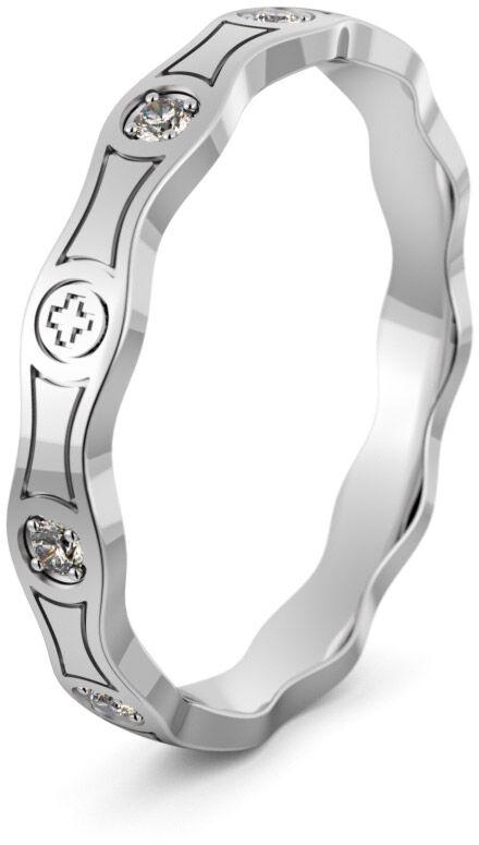 Pierścionek srebrny różaniec - Ag-497