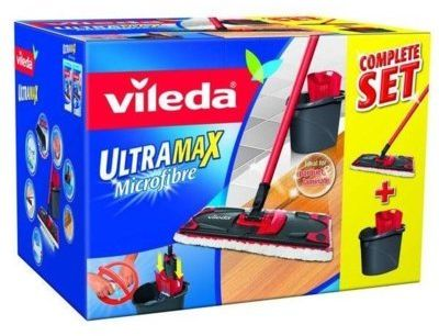 MOP VILEDA Mop płaski VILEDA UltraMax Box + Zamów z DOSTAWĄ JUTRO!