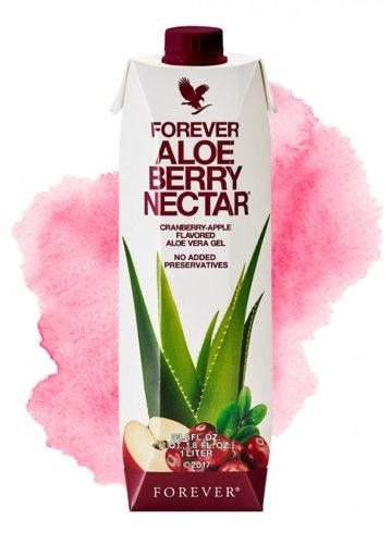 Forever Aloe Berry Nectar  - Sok z Liści Aloesu z Żurawiną