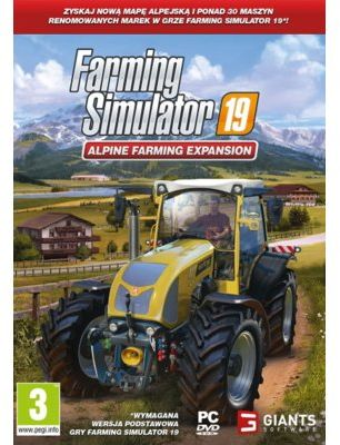 Dodatek do gry Farming Simulator 19: Alpine Farming Expansion