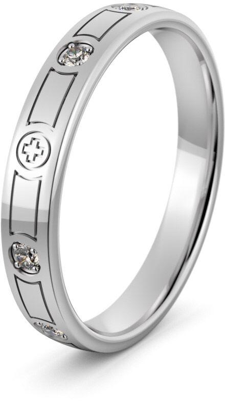 Pierścionek srebrny różaniec - Ag-499