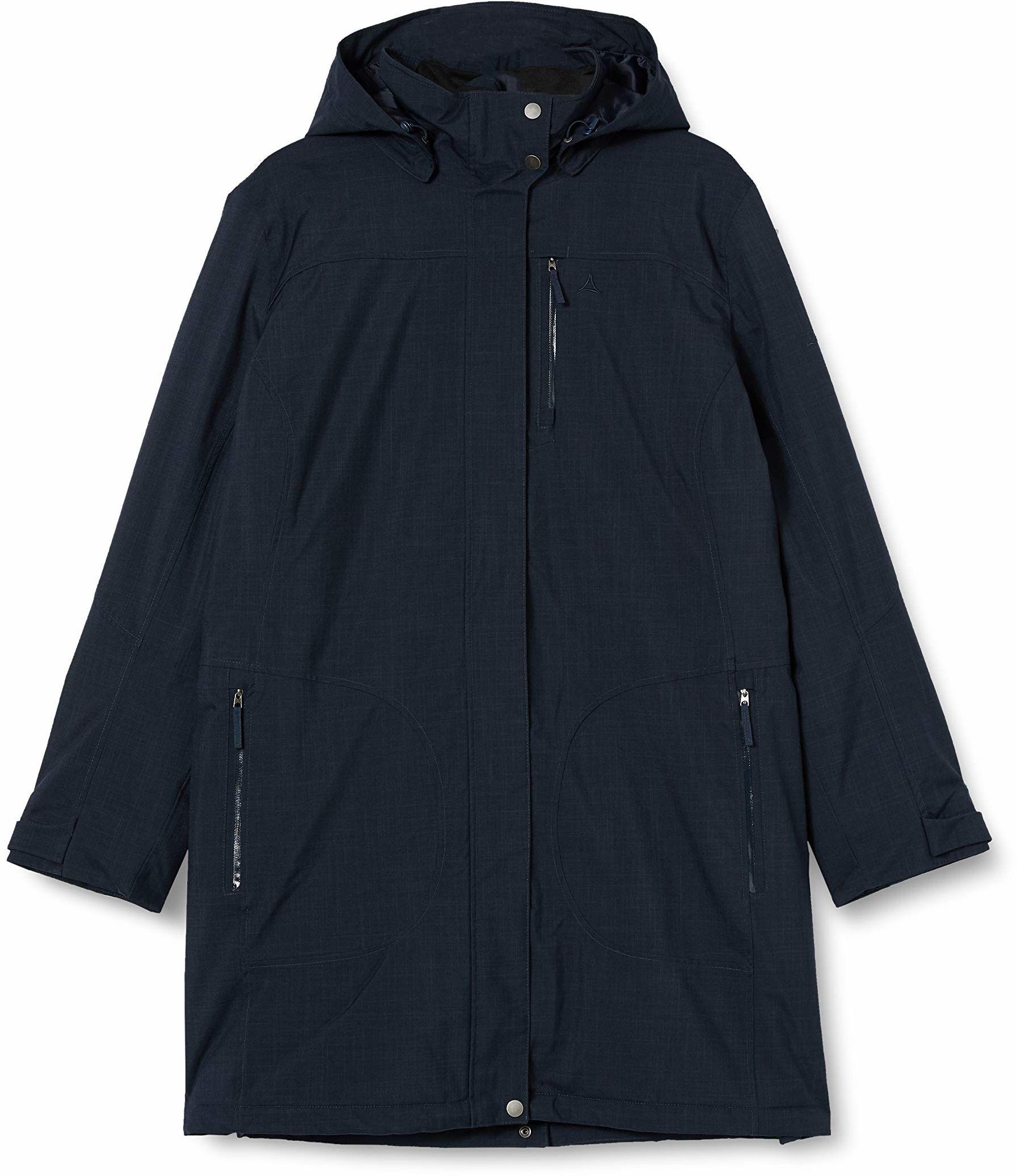Schöffel kurtka damska z izolacją Parka Monterey1, nocny niebieski, rozmiar 48