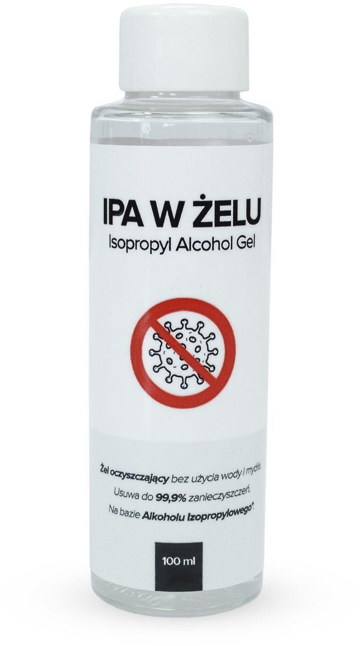 RR IPA w żelu  alkohol izopropylowy w żelu, usuwa do 99,9% zanieczyszczeń 150ml