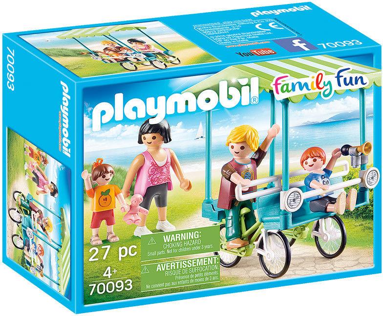 Playmobil - Rower rodzinny 70093