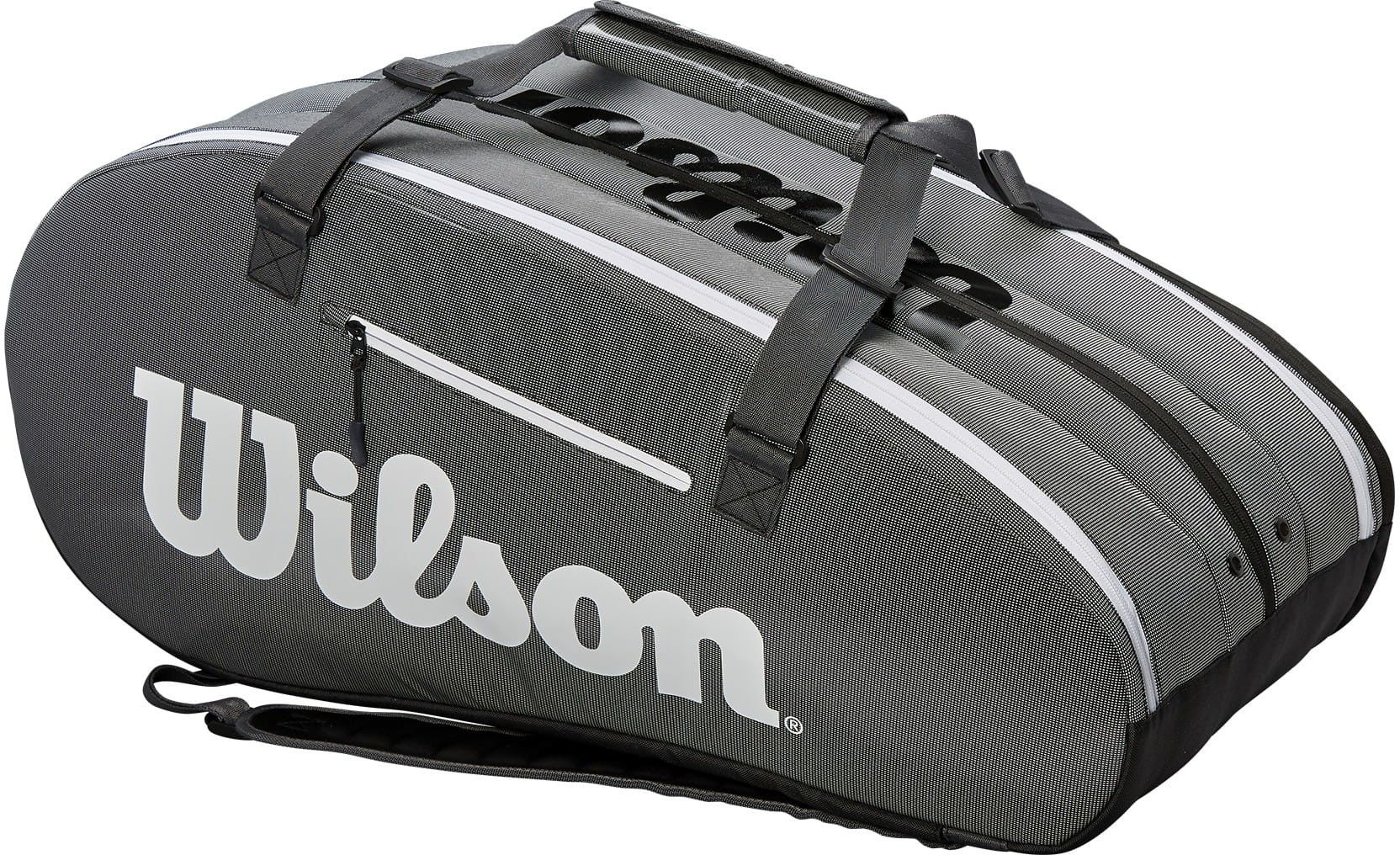 Wilson Super Tour 3 Comp - black/grey