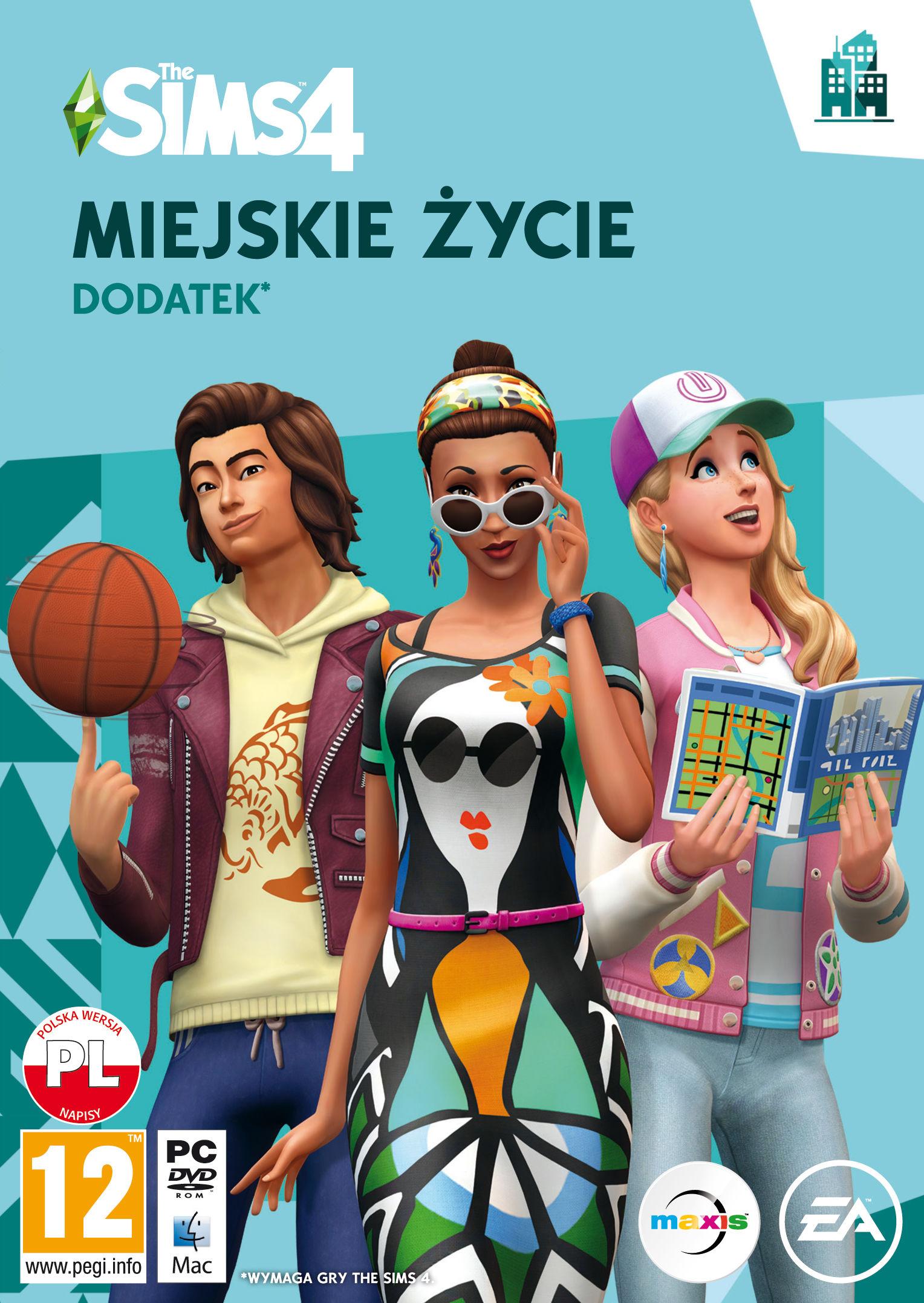 The Sims 4 Miejskie Życie - Klucz aktywacyjny Origin Automatyczna wysyłka w ciągu 5 minut 24/7!