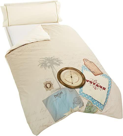 Artemur Abenteuer  podwójna kołdra na łóżko, wielokolorowa, 90 cm