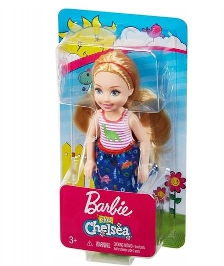 Barbie - Club Chelsy Lalka Chelsea FXG82