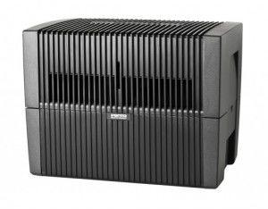 Venta LW 45 czarny - oczyszczacz powietrza z funkcją nawilżania