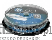 Płyty HP CD-R 700MB x52 - Cake - 10szt.