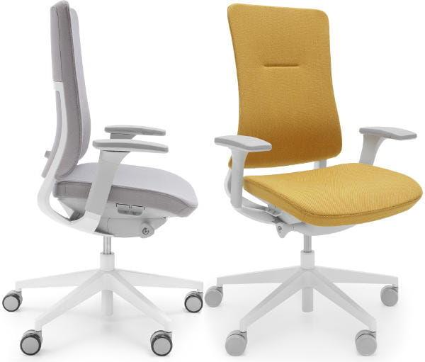 Fotel ergonomiczny Violle - jasnoszary