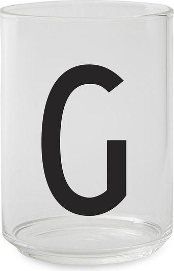 Szklanka aj litera g