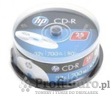 Płyty HP CD-R 700MB x52 - Cake - 25szt.