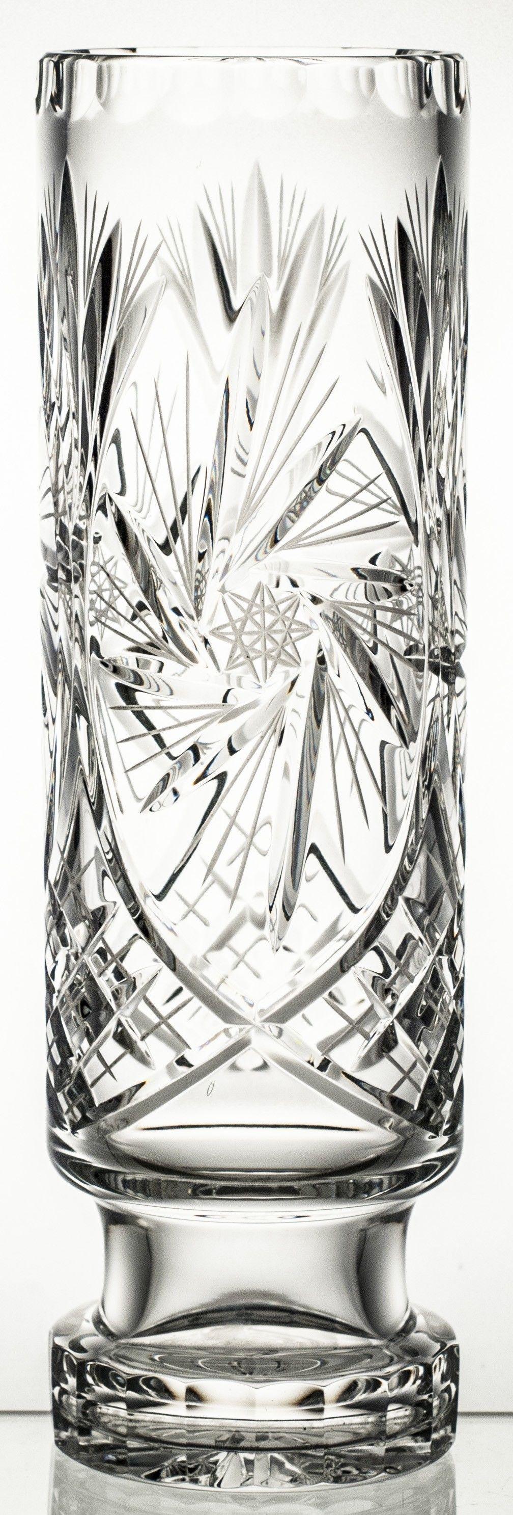 Wazon kryształowy okazały ( 02372)