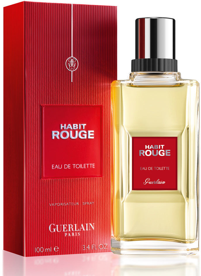 Guerlain Habit Rouge Woda toaletowa 100 ml FLAKON