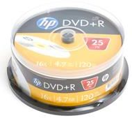 HP DVD+R 4.7GB x16 cake 25