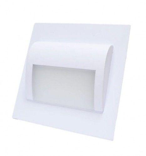 Oprawa schodowa LED 1,2W 12V DECORUS biała zimna - biała