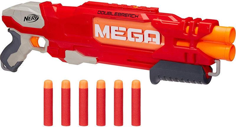 Hasbro Nerf N-strike MEGA Wyrzutnia Doublebreach B9597
