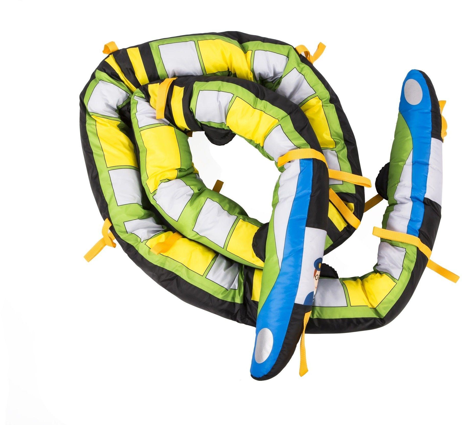 Wąż spacerowy pociąg 5 m - 18 uchwytów