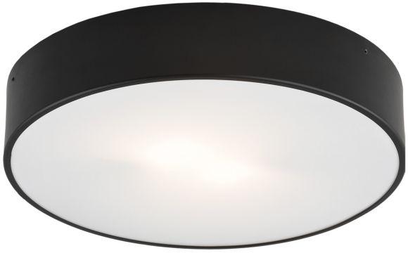 Plafon Darling 661 Argon nowoczesna oprawa sufitowa w kolorze czarnym