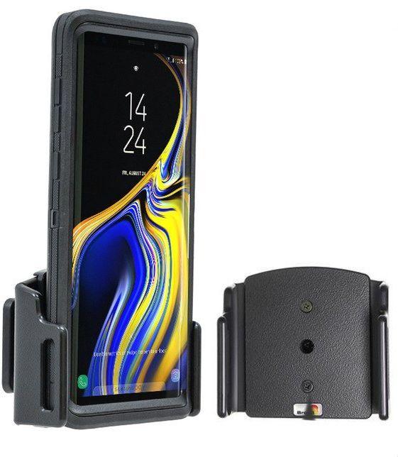 Uchwyt uniwersalny pasywny do Samsung Galaxy NOTE 10+ bez futerału oraz w futerale lub etui o wymiarach: 75-89 mm (szer.), 12-16 mm (grubość)