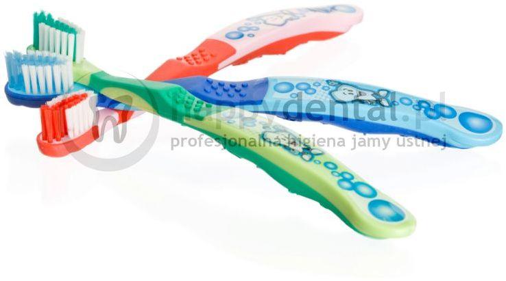 OPALESCENCE Junior SmileBrush - szczoteczka do zębów z antypoślizgowym uchwytem dla dzieci