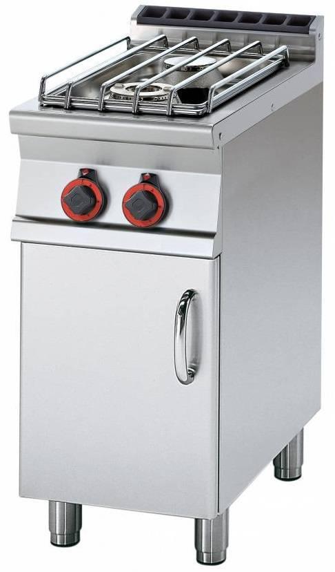 Kuchnia gazowa z szafką 1300W 400x700x(H)900mm