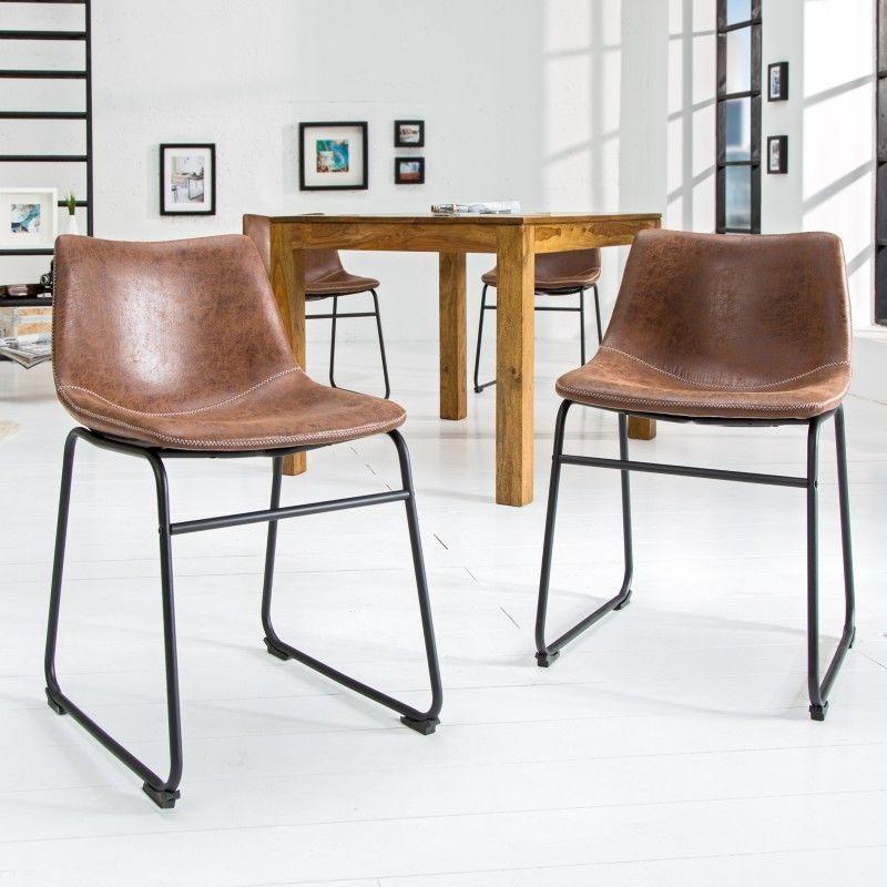 Krzesło Mambo brązowe