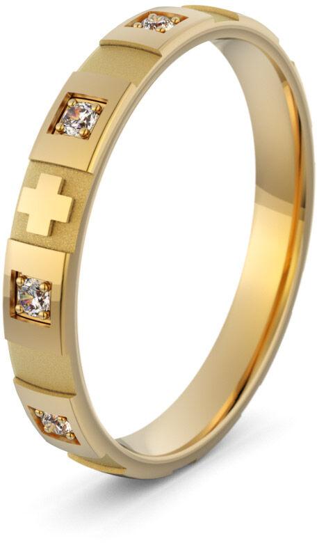 Pierścionek złoty różaniec - Au-1161