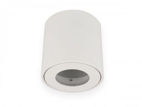 Oprawa sufitowa natynkowa okrągła wodoodporna GU10 230V - biała matowa