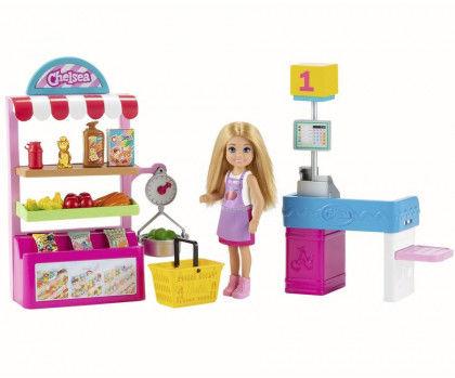Barbie - Sklepik z lalką Chelsea GTN67
