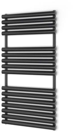 Grzejnik łazienkowy Warmtec Puerta 60 x 120 czarny/antracyt
