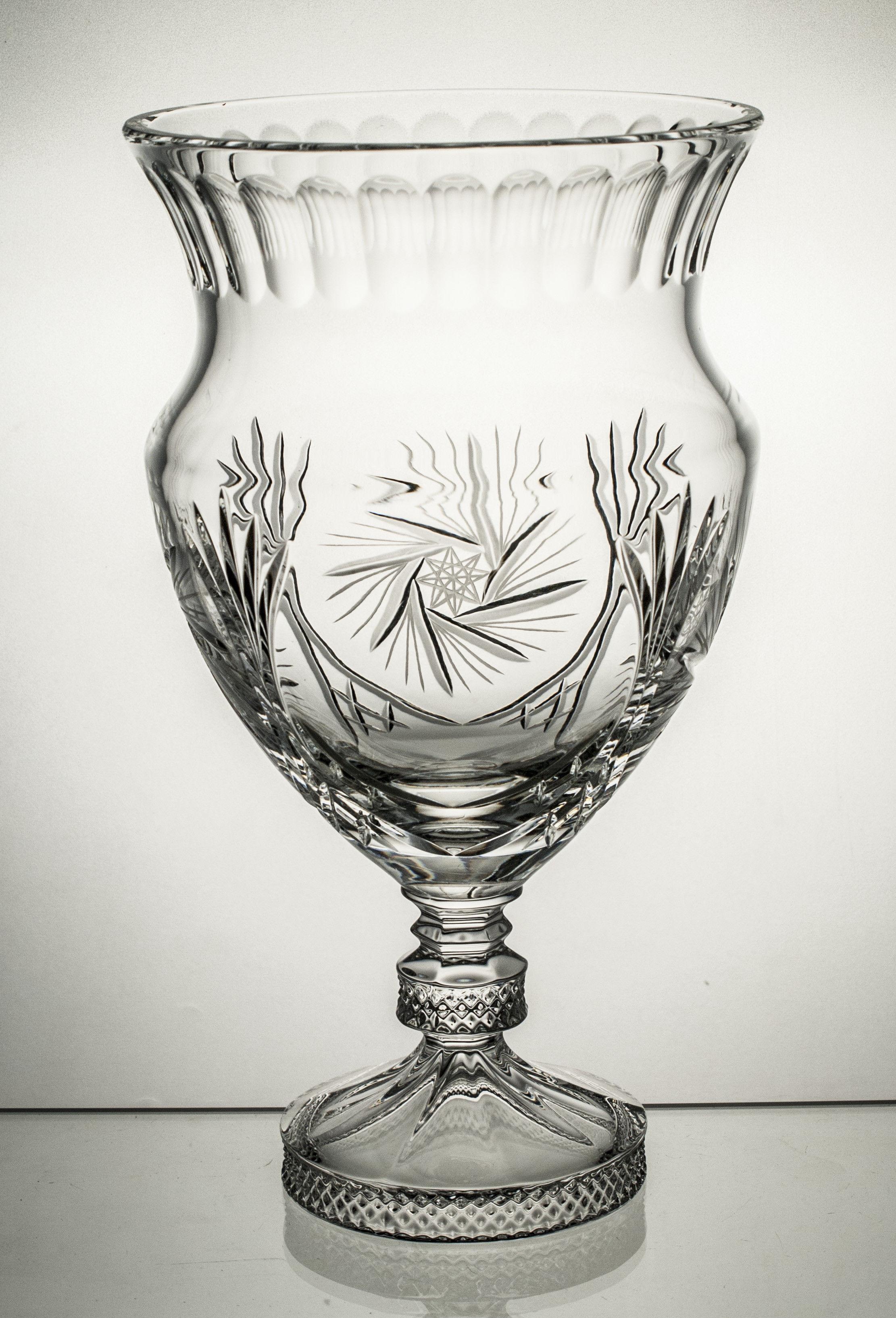 Wazon kryształowy puchar (13940)