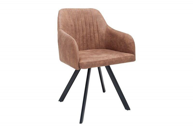 Krzesło Carlo brązowe