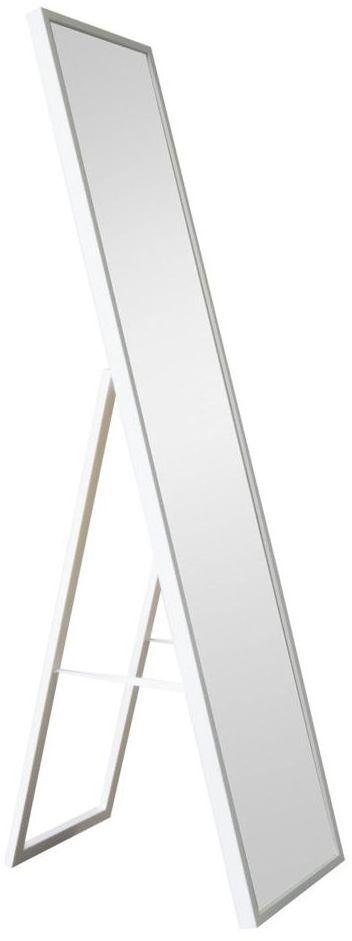 Lustro stojące MILO białe 30 x 140 cm INSPIRE