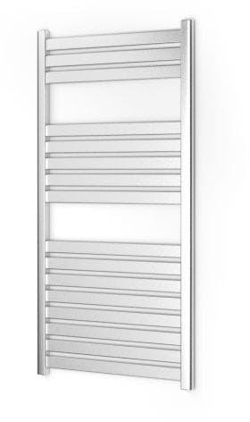 Grzejnik łazienkowy Warmtec Velo 60 x 120 chrom w połysku