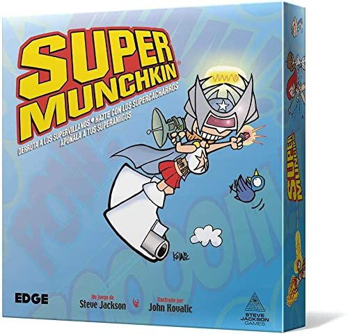 Edge Entertainment Super Munchkin New Edition (EESJSU01)