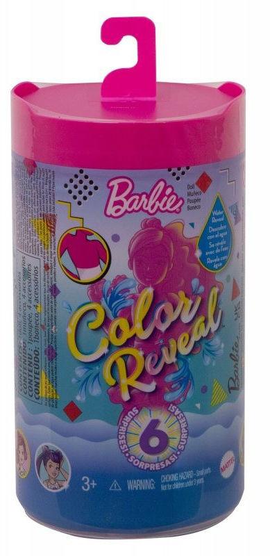 Lalka Barbie Chelsea Color Reveal GTT24-GWC60