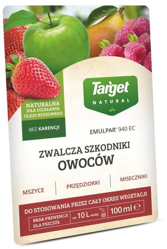 Środek owadobójczy EMULPAR 940 SC 100 ml TARGET NATURAL