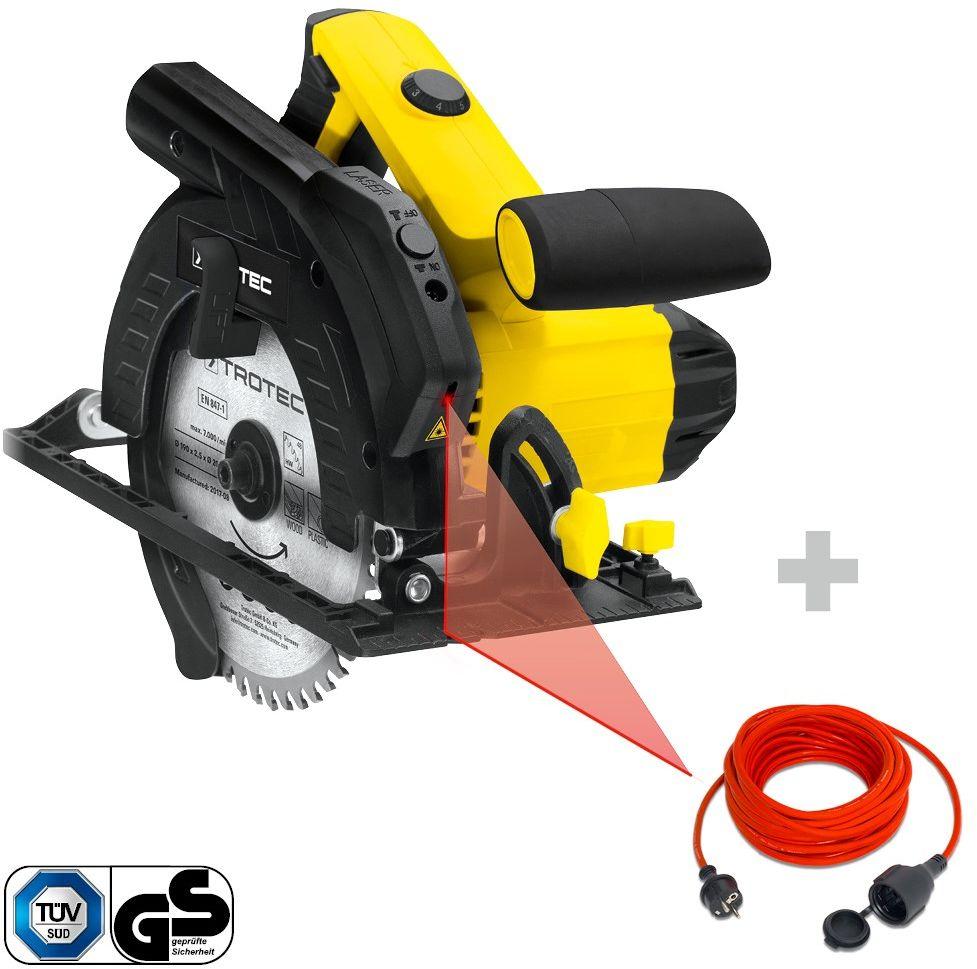 Pilarka tarczowa PCSS 10-1400 + Przedłużacz jakościowy 15 m / 230 V / 1,5 mm