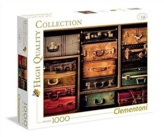 Puzzle 1000 Travel - Clementoni