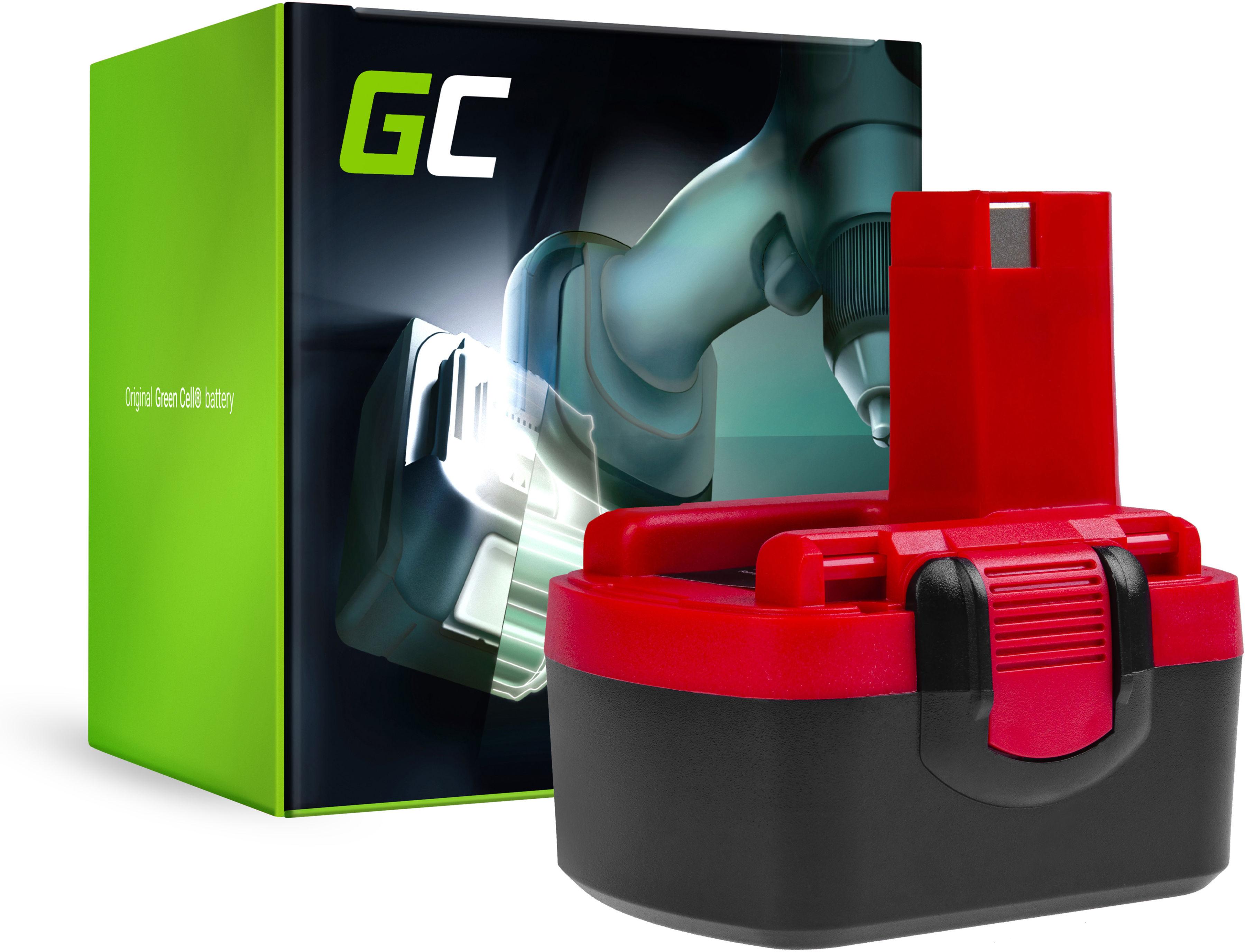 Bateria Green Cell (3Ah 14.4V) 2 607 335 619 2607335711 2607335263 BAT038 do Bosch O-PACK GSR PSR PSB 14,4 14,4-2 VE-2 VES-2
