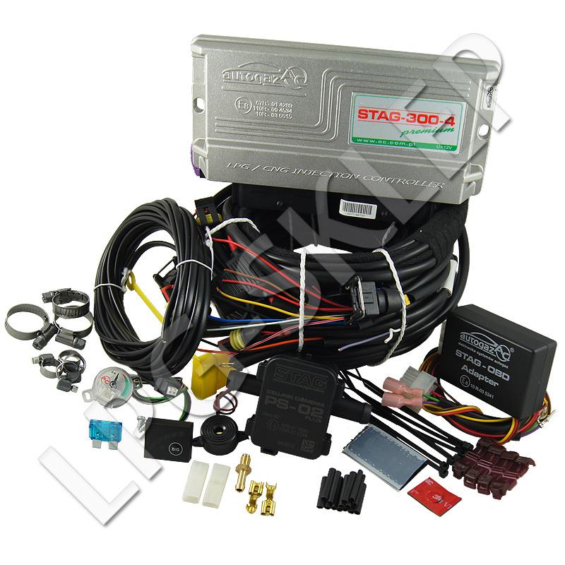 Wtrysk sekwencyjny AC STAG 300-4 Premium