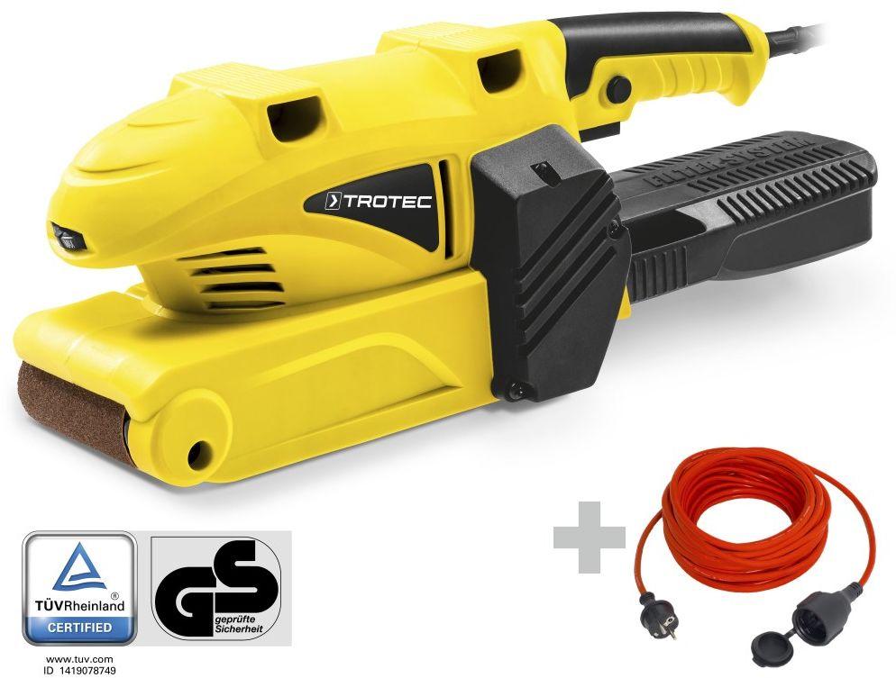 Szlifierka taśmowa PBSS 10-600 + Przedłużacz jakościowy 15 m / 230 V / 1,5 mm