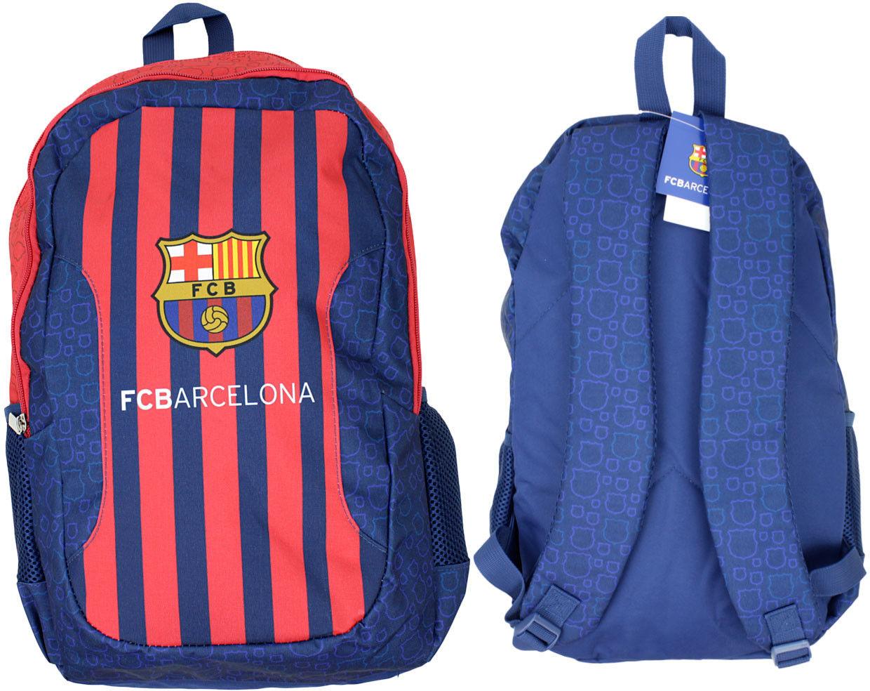 Plecak szkolny FC BARCELONA 45x32x16cm Niebieski