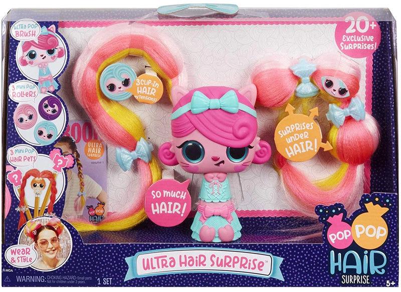 Pop Pop Hair Surprise - Duży zestaw Ultra Hair 563822