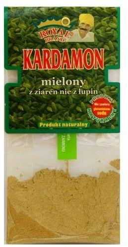 Kardamon mielony z ziaren (nie z łupin) 15 g