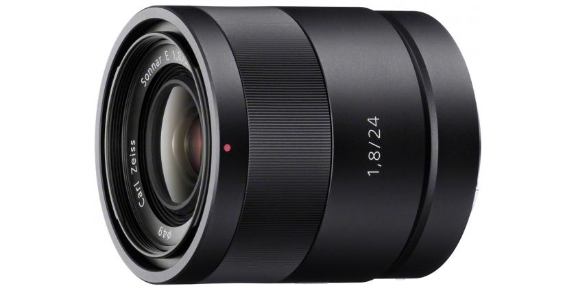 Sony Sonnar T E 24mm F1.8 ZA - obiektyw stałoogniskowy, SEL24F18Z Sony SEL24F18Z
